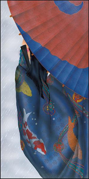 Tsuyu: Shizuka - Ni  Kimono Seasons Collection