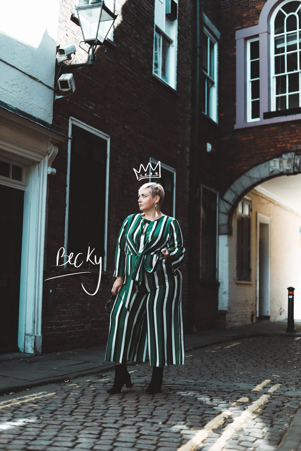 My queen Becky! This woman is so  fierce  and  fabulous  and  strong  as hell and it really came across in her images. B:  http://www.beckybarnesblog.co.uk/  I:  https://www.instagram.com/beckybarnesblog/
