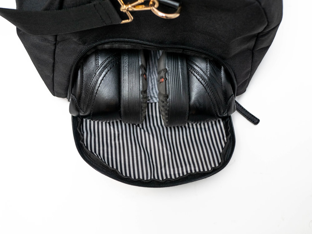 This is not your grandfather's duffel bag - but we are sure hew would love this one!