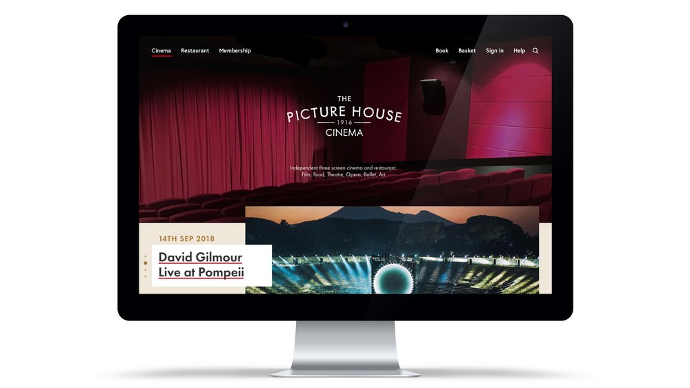 Picture House Homepage Overview