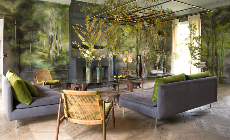 Bringing nature inside, Claire Basler's Chateau