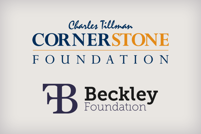 The Foundations - Benefiting the Cornerstone Foundation and the Beckley Foundation.