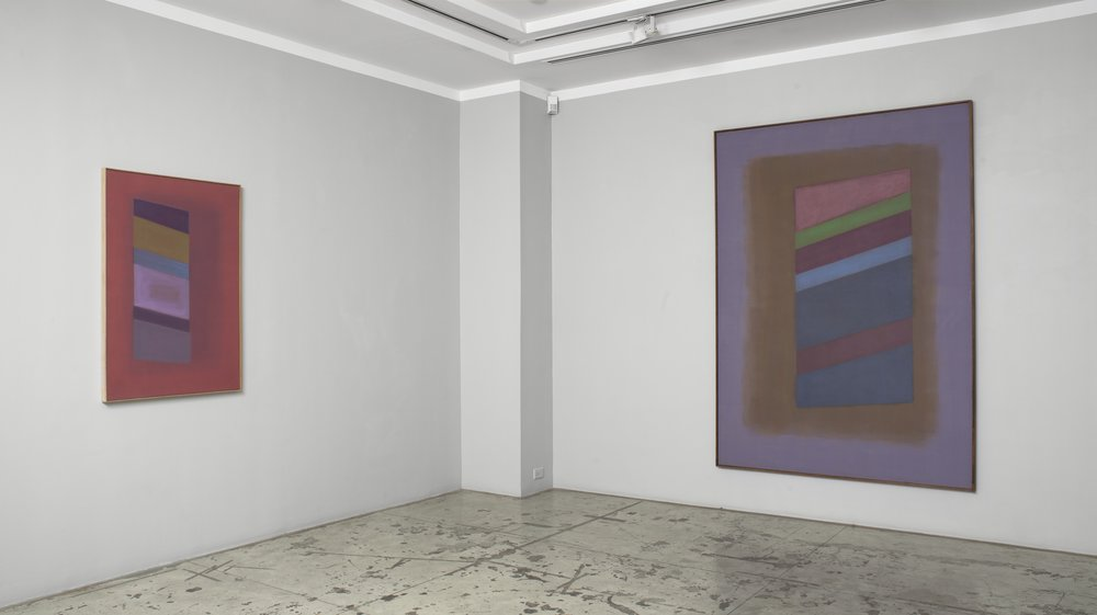 Charles Pollock, Installation View at Jason McCoy Gallery, 2015.