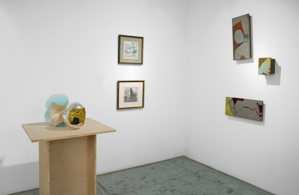 Galaxy and Cosmos , installation view at Jason McCoy Gallery, 2010-2011.