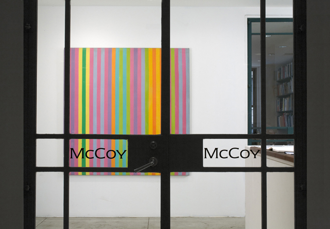 70 Years of Abstract Painting - Excerpts , Installation view at Jason McCoy Gallery, 2011.