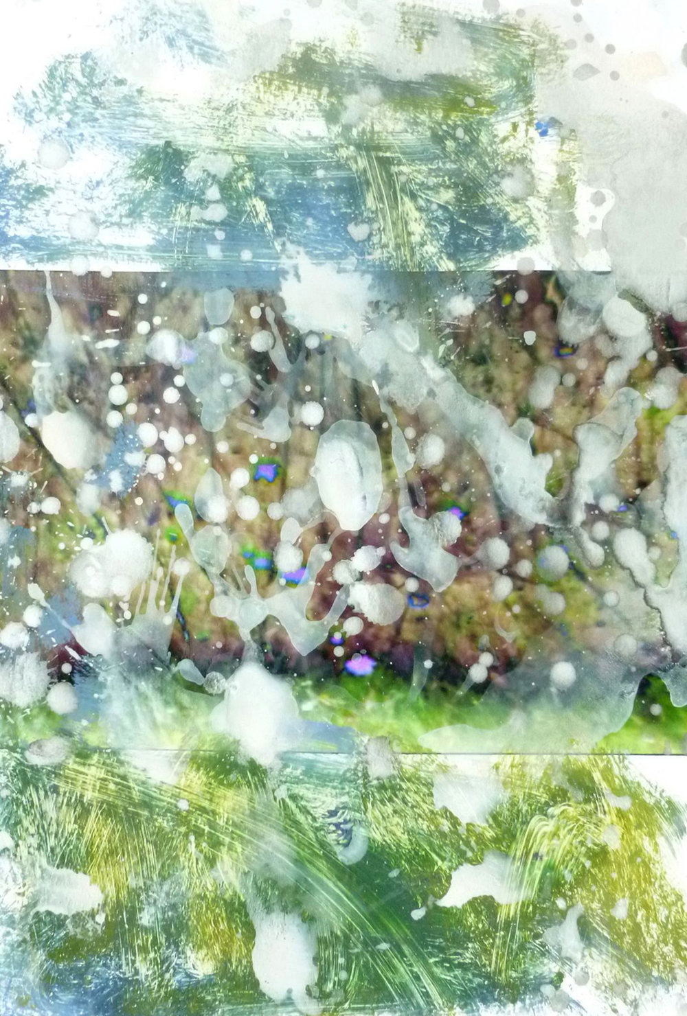 Annelies Štrba & Adrian Schiess   Untitled,  Pigment print and watercolor on paper Work size: 11 3/4 x 8 1/4 inches 29.8 x 21 cm
