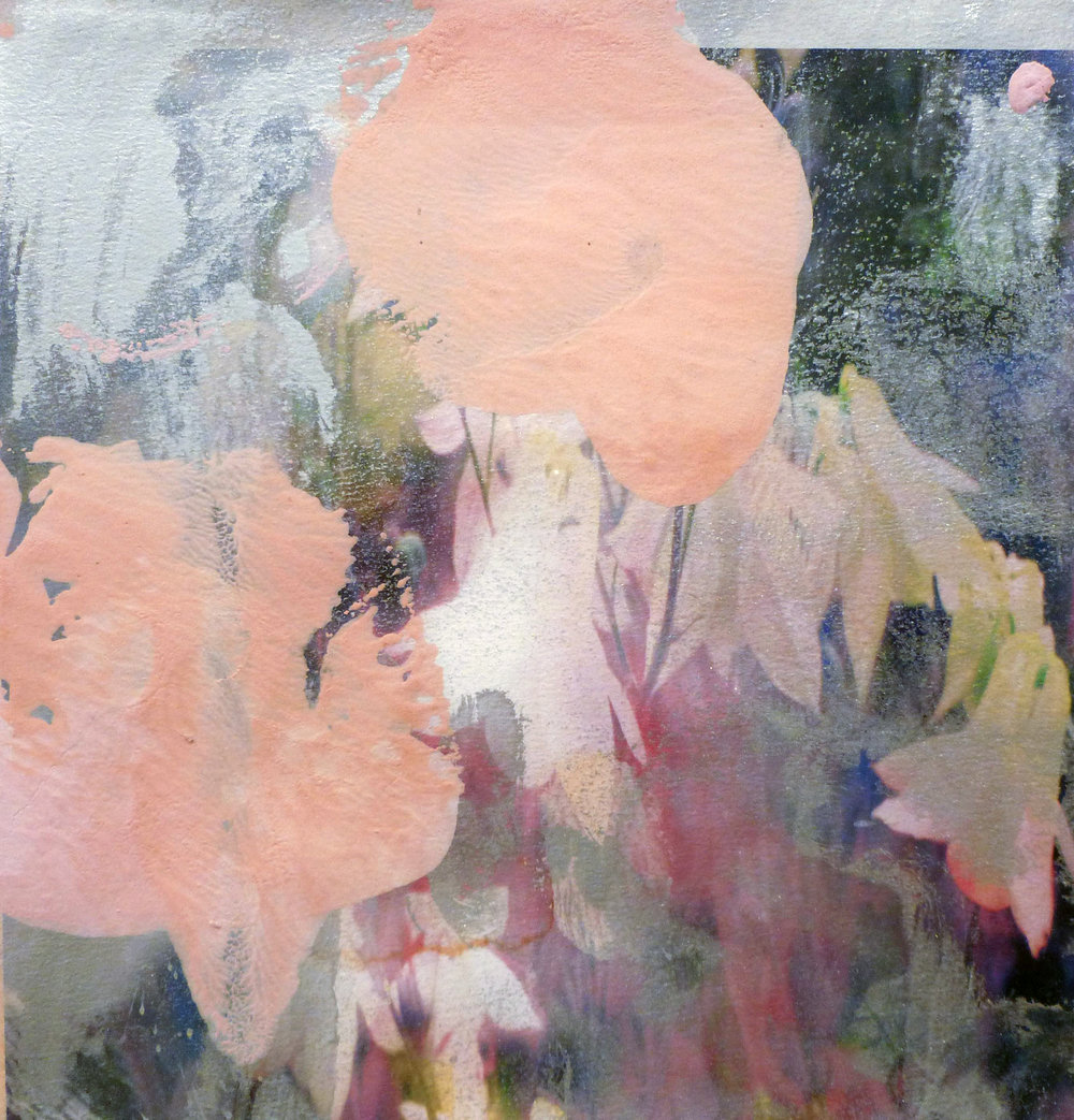 Annelies Štrba & Adrian Schiess   Untitled  , 2012 Pigment print, oil and watercolor on paper 8 1/4 x 8 1/2 inches 21 x 21.6 cm