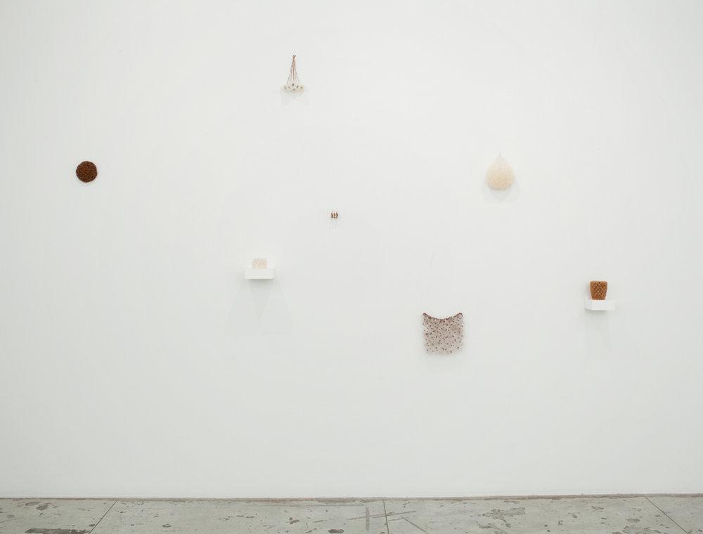 Christiane Löhr,  Installation view at Jason McCoy Gallery, 2013.