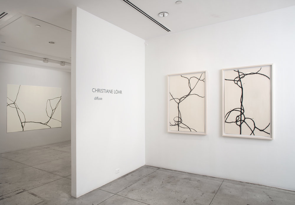 Christiane Löhr: diffuse,  Installation view at Jason McCoy Gallery, 2018.