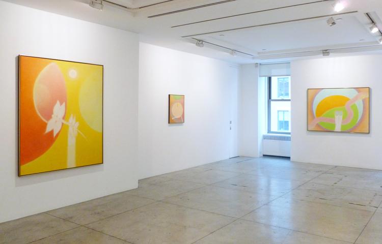 Bernard Childs,  Installation view at Jason McCoy Gallery, 2012.