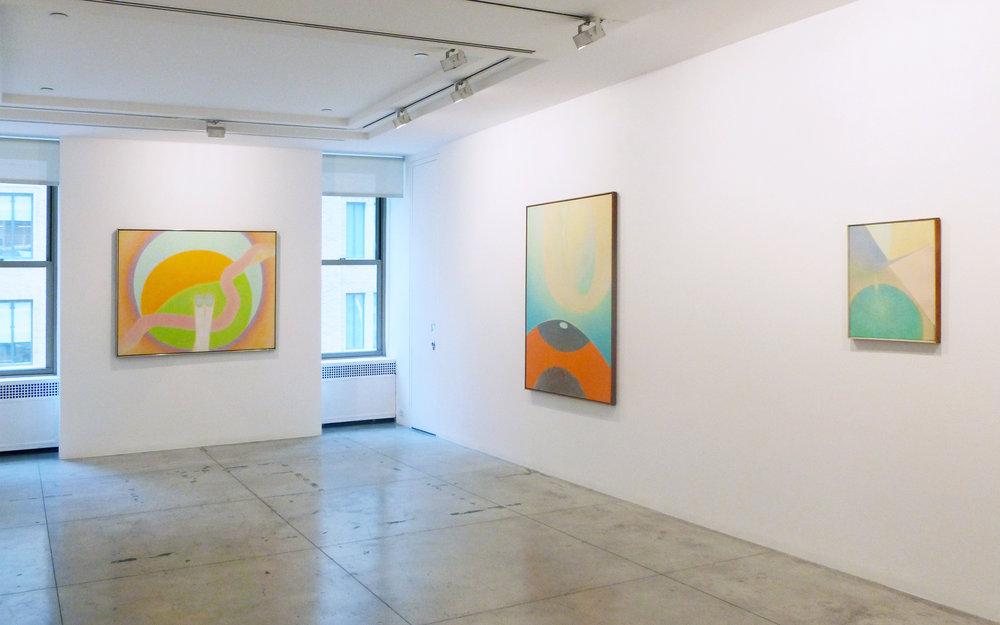 Bernard Childs , Installation view at Jason McCoy Gallery, 2012.