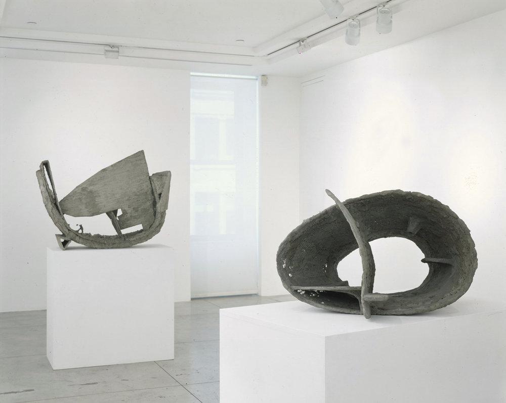 Frederick Kiesler: Endless , Installation view at Jason McCoy Gallery, 2008.