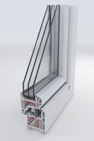 Vinyl Windows - Vinyl windows have steel reinforcements for greater stability.Available in a huge variety of colors and wood foil patterns.