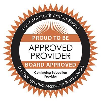 Approved NCBTMB Provider #1789