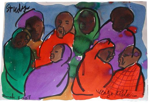 Aminah Robinson - Village Elders