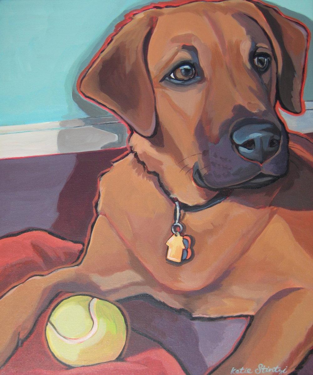 Dog painting Pet portrait.JPG