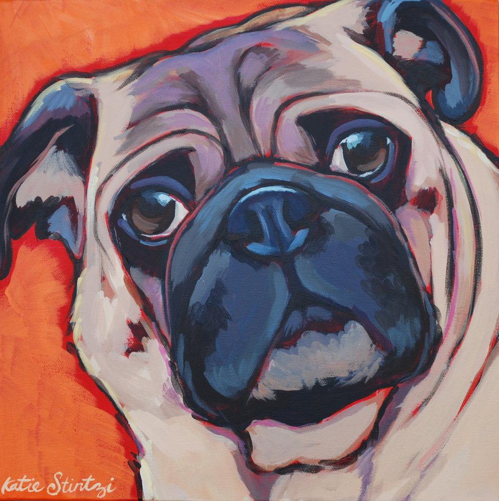 Pug Painting Pet portrait.JPG