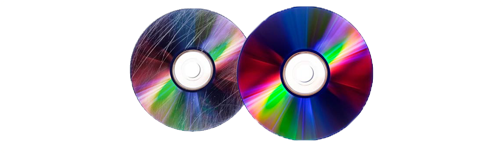 We repair scratched discs -