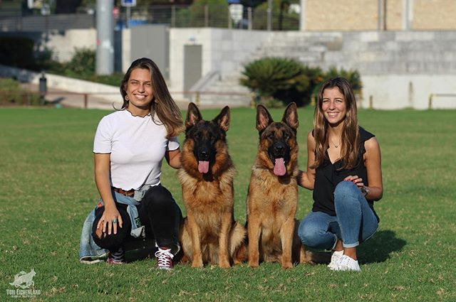 Gracinha and Maria with two females from our kennel! 🔥🔥🔥