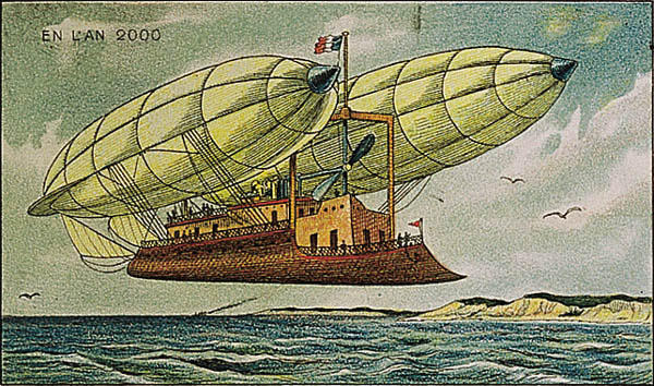 Airship on the Long Course