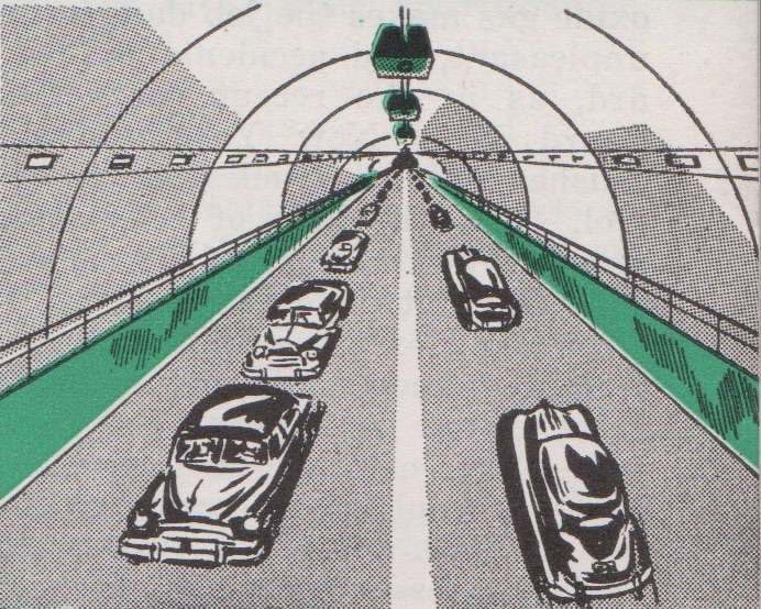 Traffic tunnels of the future with CCTV surveillance