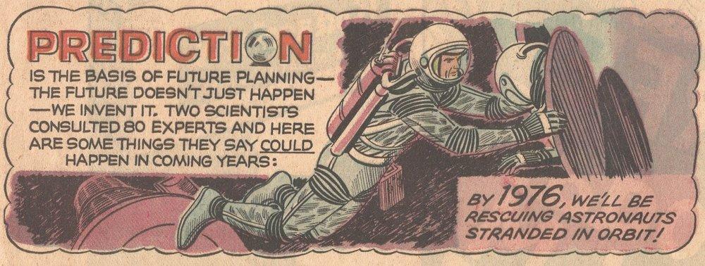 A space rescue mission  ( Novak Archive )