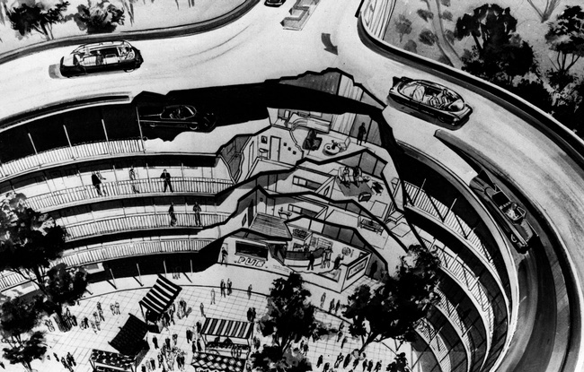 Motopia, the city of the future planned for just outside London ( Novak Archive )
