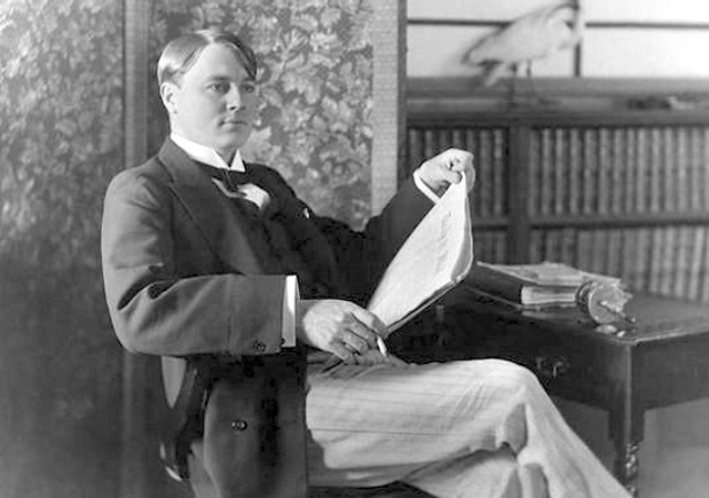 Alfred Harmsworth in 1896 (Source: National Portrait Gallery, London)