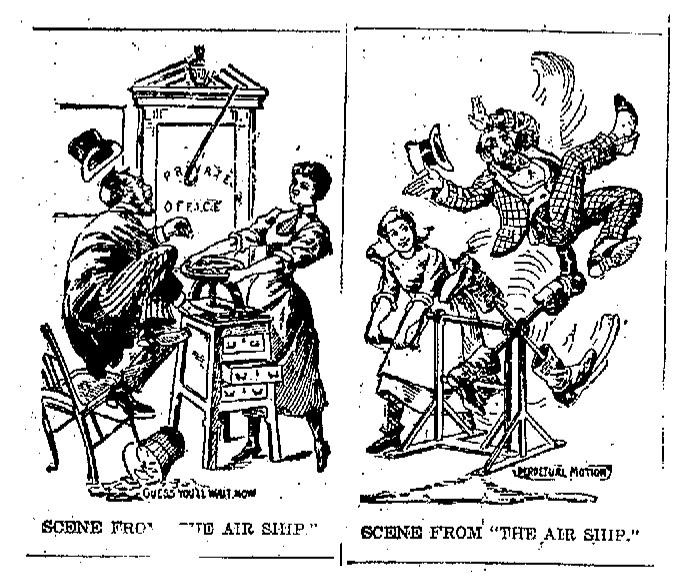 air ship illustrations 1899 Jan 16 Fort Wayne Gazette.jpg