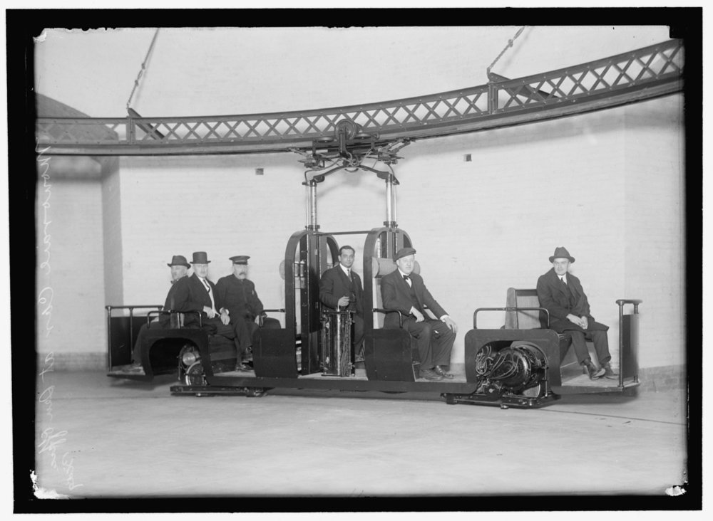 1912 Senate Monorail (Library of Congress)