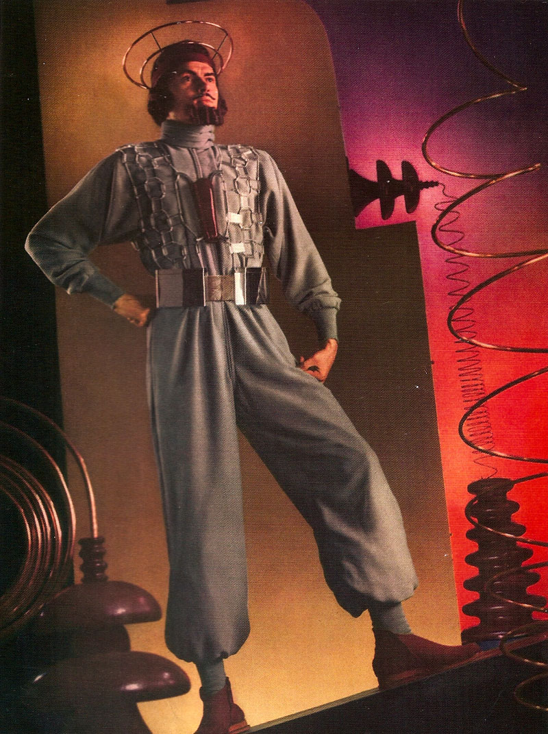 The man of the future in 1939 via    Exit to Tomorrow: World's Fair Architecture, Design, Fashion 1933-2005