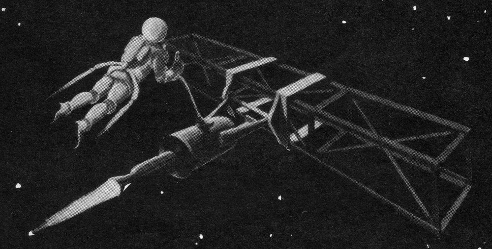 January 1961 issue of  Space World  magazine (Novak Archive)