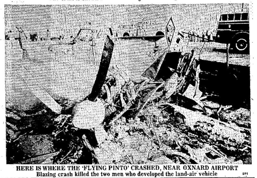 1973 Sept 12 Press-Telegram - Long Beach CA paleofuture crash.jpg