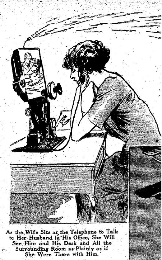 1925 Feb 8 San Antonio Light - San Antonio TX videophone.jpg