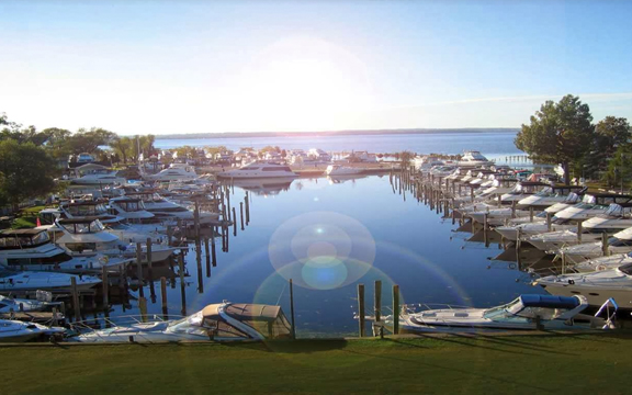 Slip & land storage - As the largest marina in the area, we have over 500 slips and a tremendous variety of options to make your summer enjoyable and relaxing.