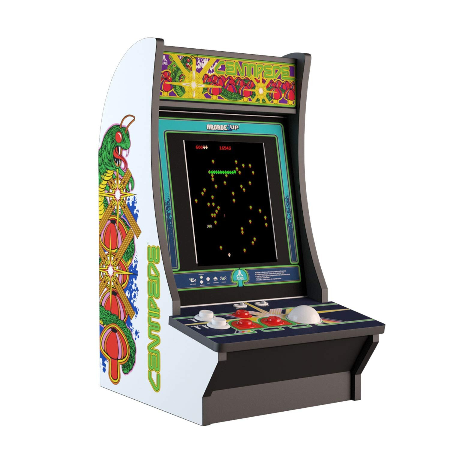 Centipede Arcade1up Countercade Coin Op King