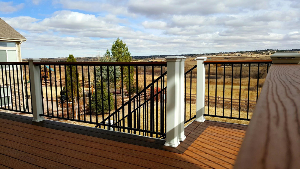 Composite Trex - Denver Deck Builders