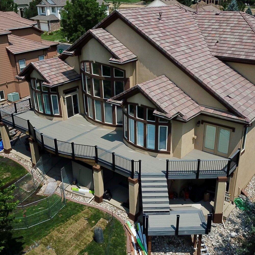 composite decks -