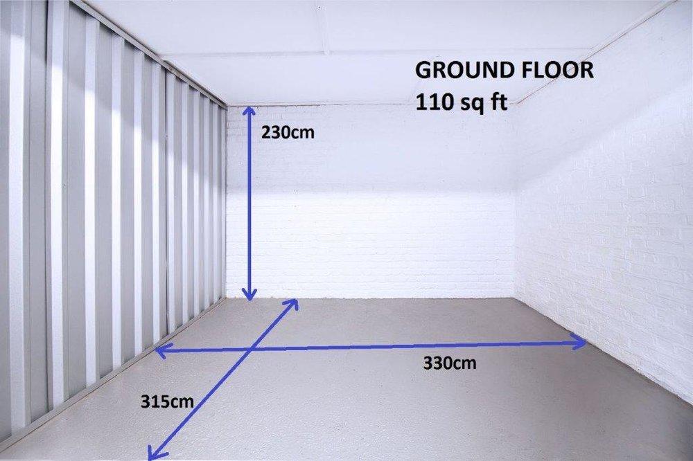 110 sqft