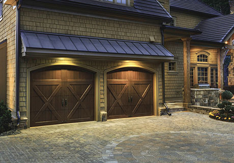 RESERVE® WOOD COLLECTION LIMITED EDITION SERIES - Authentic carriage house designs combine historical charm and character with the convenience of automatic overhead operation. Eight carriage house designs, available in multiple wood species and top section/window panel designs that can be mixed and matched, painted or stained, to complement any architectural style and color scheme.