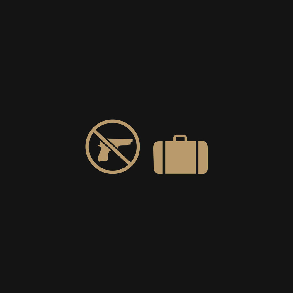 - All persons, bags, parcels and other items may be subject to security checks at the point of admission to the Resort and at other locations inside the Resort as we consider appropriate. Firearms and weapons of any kind are prohibited.