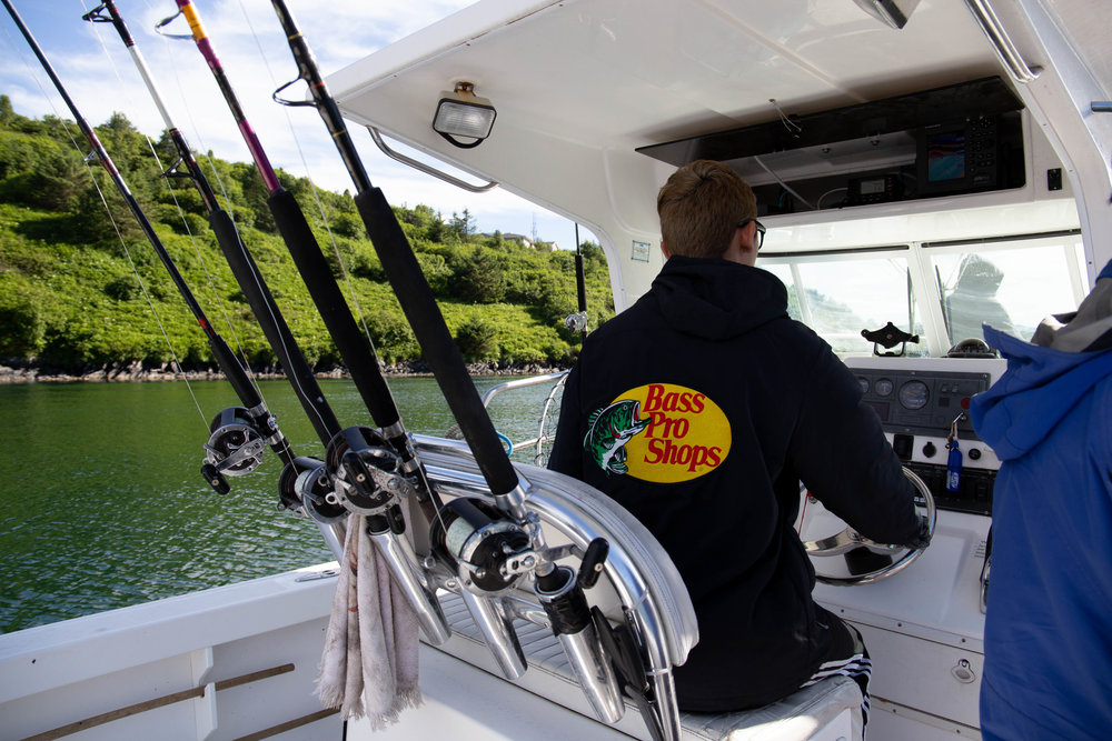 """Seamanship - """"Once a person receives intense training to become a fisherman, he can go anywhere in the world and become a leader of people. Learning to be a fisherman is good leadership training."""" -SMM"""