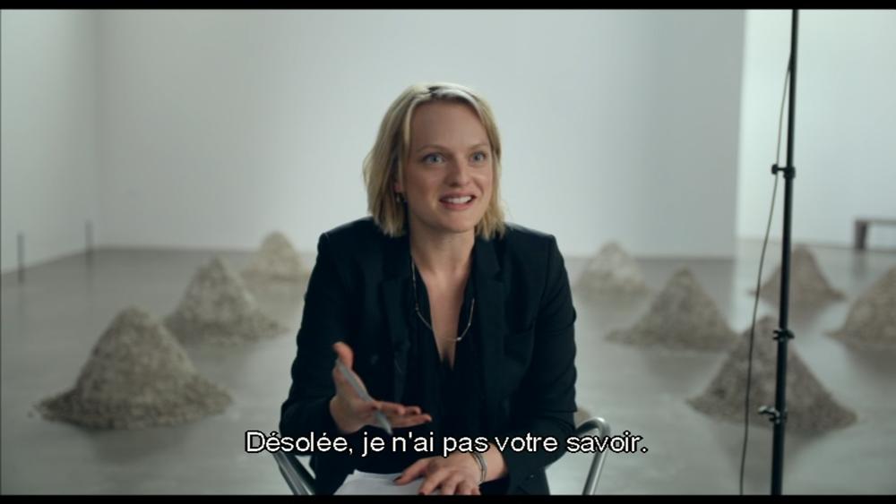 """Elisabeth Moss dans """"The Square"""" de Ruben Östlund, Palme d'Or 2017"""