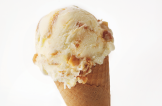 Honeycomb & Caramel  Rich and creamy dairy ice cream crammed with honeycomb chunks and swirled with caramel sauce. Made with local Cornish milk and clotted cream.