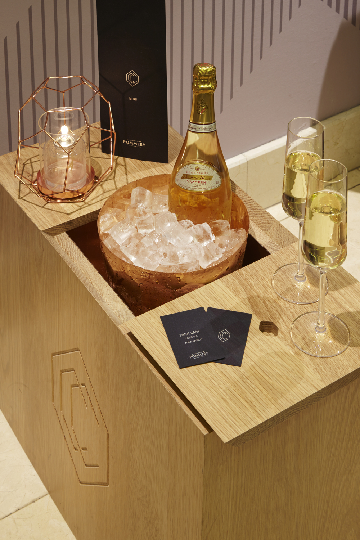 Shape Pommery Champagne Bar