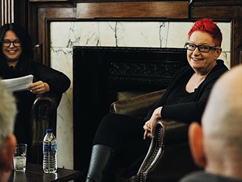 """Dr Sue Black - Author of """"Saving Bletchley Park"""" and government advisor."""