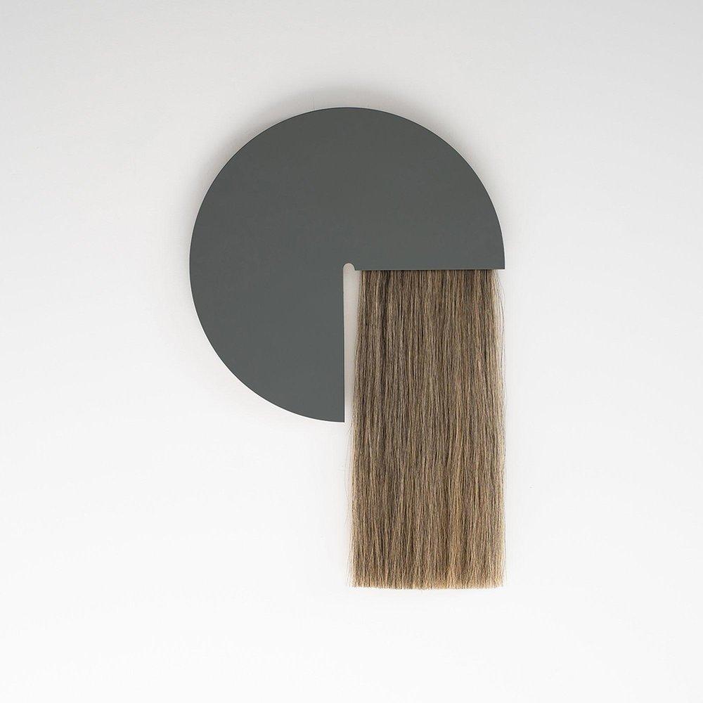 aries mirror: grey