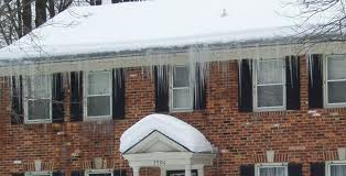 WE SPECIALIZE IN STEAM ICE DAM REMOVAL -