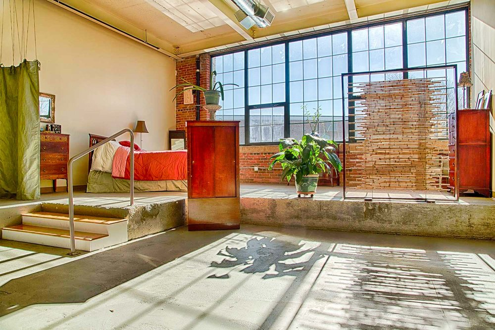 Artist Loft Interior Design, Lowell, MA