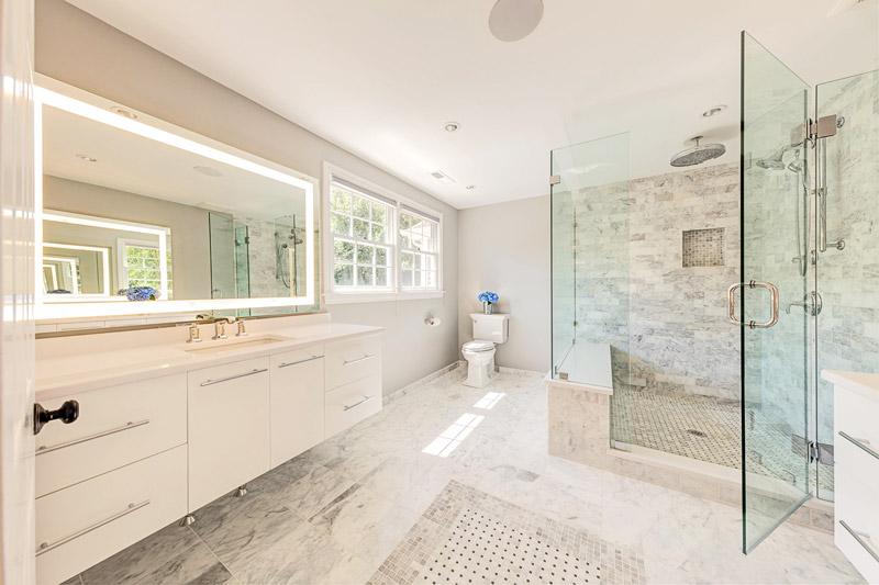 Master Bath Interior Design, Andover, MA